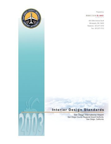 Interior Design Standards - San Diego International Airport