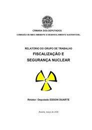 FISCALIZAÇÃO E SEGURANÇA NUCLEAR - Requisição Inválida!