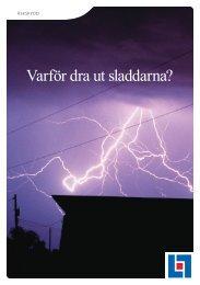 Broschyr Åskskydd - Länsförsäkringar