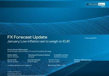 FX Forecast Update - Danske Bank