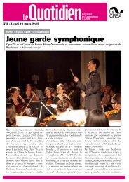 Jeune garde symphonique - La Crea
