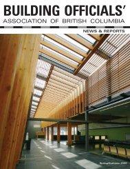 Spring/Summer 2006 - Building Officials' Association of BC