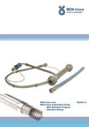 Metal Hose Guide Mod.2 BOA Standard Programme - BOA Group