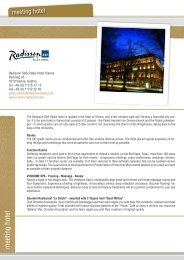 hotel_radisson:Layout 1.qxd - nextstep congress solutions