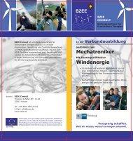 BZEE-Flyer zur Verbundausbildung, PDF-Datei, 1,9 MB - windcomm ...