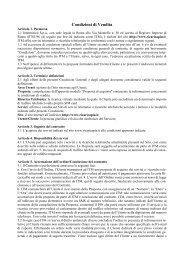 Condizioni di Vendita - Intermatica