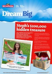 Issue 30 - February 2011 - SA Lotteries