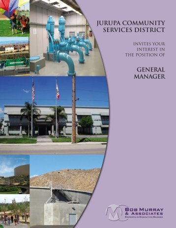 jurupa community services district general manager - Bob Murray ...