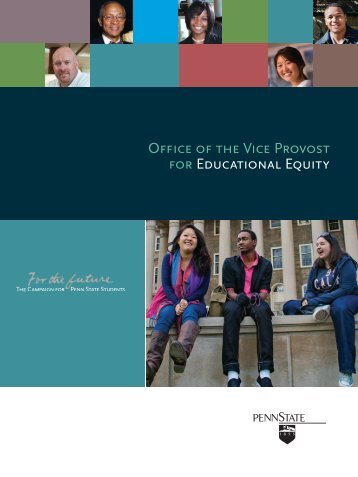 Educational Equity Campaign Case Statement - Giving to Penn State