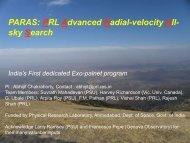 PARAS: PRL Advanced Radial-velocity All- sky Search