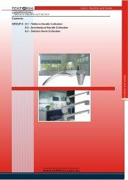 Architectural Handle - Tekform