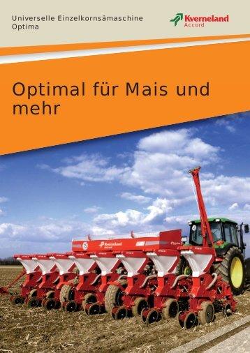 Optimal für Mais und mehr - Webland