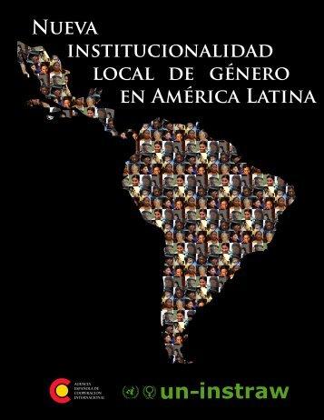 Nueva institucionalidad local de género en América Latina
