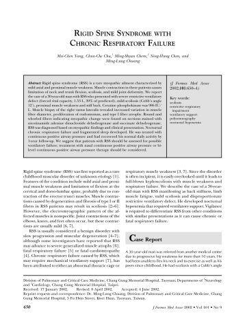 single lung transplant for chronic respiratory failure, Skeleton