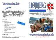 Højbjerg - plads til 70 personer - Leder - FDF