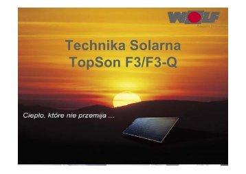 Technika Solarna TopSon F3/F3-Q - Wolf