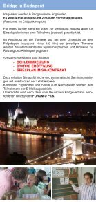 Budapest - Bridgeakademie Fröhner - Seite 2