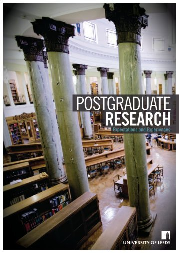 postgraduate research - School of Education - University of Leeds