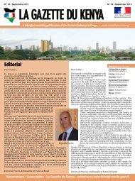Abonnement / Subscription : La Gazette du Kenya - Ambassade de ...