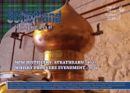new distillery: strathearn :: p. 27 whisky proevers evenement :: p. 26