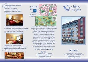 Zur Post Hotel Munchen