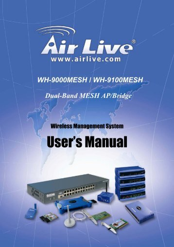 3eTI WMS User's Guild - AirLive