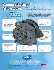 Alternator Features and Benefits [L20710] June-2012 - Haldex