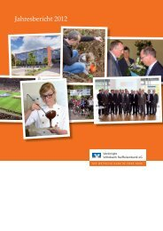 Jahresbericht 2012 - Vereinigte Volksbank Raiffeisenbank eG