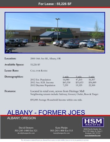 Albany Joes FCn.pub - HSM Pacific