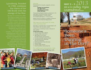 MAY 3 - Southern Garden History Society
