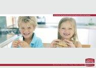 Ihr Partner für gastronomische Konzepte in KiTas und Schulen