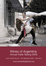 bodega - Wines Of Argentina