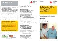 Individuelle Hilfen für pflegende Angehörige - Sozialstation ...