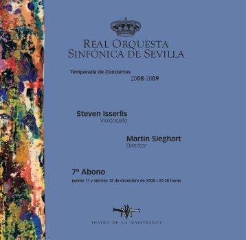07 abono 0809 - Real Orquesta Sinfónica de Sevilla