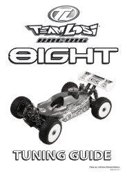 8ight Tuning Guide - Team Losi Racing