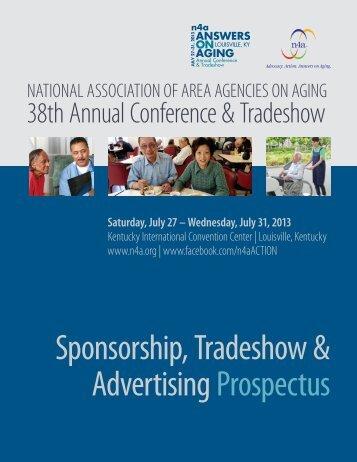 Sponsorship, Tradeshow & Advertising Prospectus - n4a