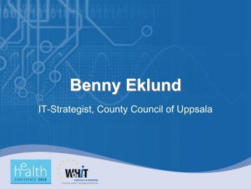 Benny Eklund - World of Health IT