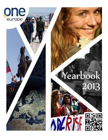 OneEuropeYearBook