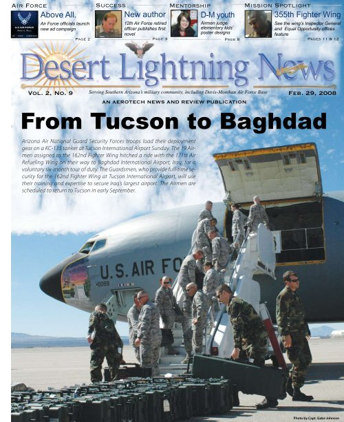 From Tucson to Baghdad - Davis-Monthan Air Force Base