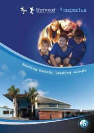 Sherwood Prospectus 2012 - English - Sherwood School