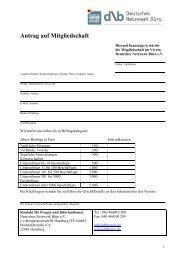 DNB_Mitgliederantrag und FB - Deutsches Netzwerk Büro