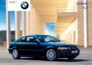 Online Edition for Part-No. 01 41 0 156 800 - © 09/02 BMW AG