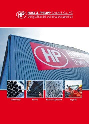 Betonstahl-Biegebetrieb - Huse & Philipp GmbH & Co. KG