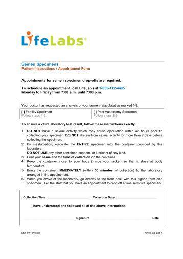 urine specimen collection instructions