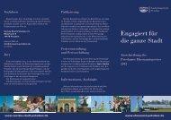 erhalten Sie die aktuelle Ausschreibung (PDF) - Ehrenamt in Potsdam