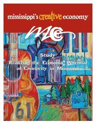 Download the Study PDF document here - Mississippi's Creative ...