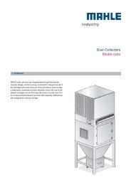 [PDF] Dust Collectors Model code - mahle.com