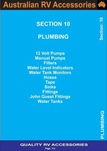 Backup_of_Section 10 - Plumbing - Award RV Superstore