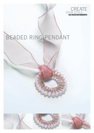 BEADED RING PENDANT - Create Your Style