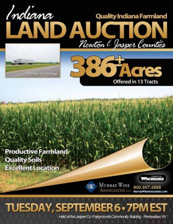 Click To Download Auction Brochure - Murray Wise Associates
